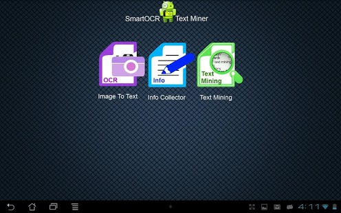 Capture d'écran Smart OCR:Text Miner