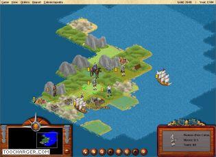 Capture d'écran FreeCol