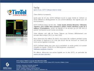 Capture d'écran i-TimTel Flash