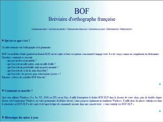 Capture d'écran BOF
