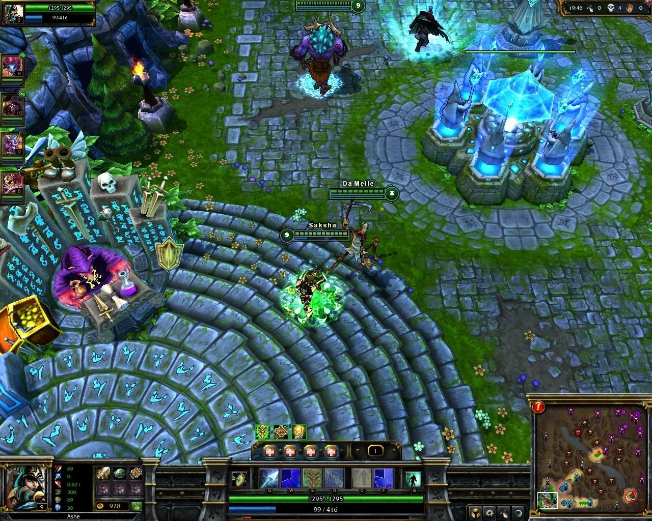 Capture d'écran League of Legends