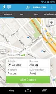 Capture d'écran RunKeeper – GPS Courir Marcher