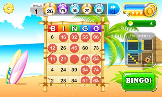 Capture d'écran AE Bingo