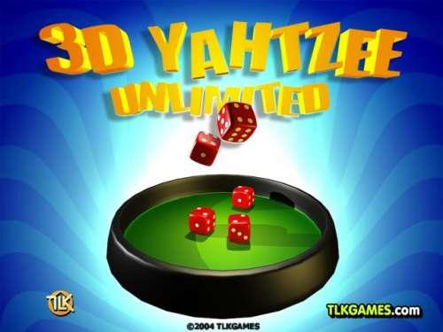 Capture d'écran 3D Yahtzee Unlimited