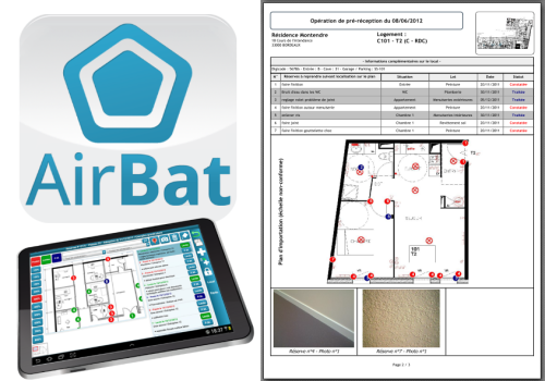 Capture d'écran Air-Bat v5 (2014)