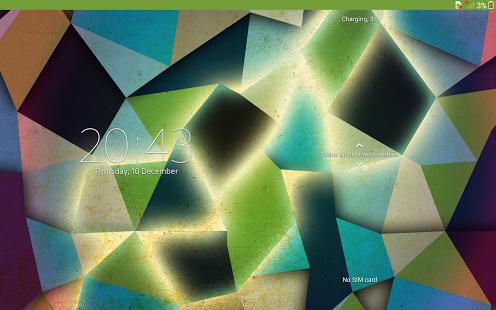 Capture d'écran Xperia™ thème – Polybox