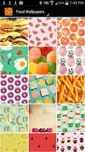 Capture d'écran Food Wallpapers