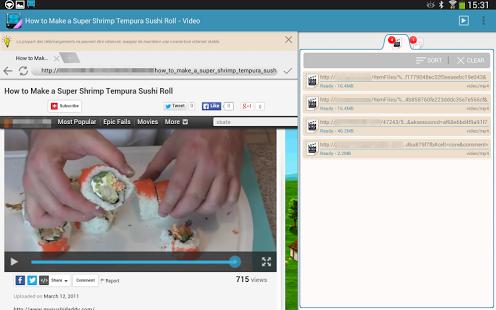 Capture d'écran AVD Telecharger Video GRATUIT
