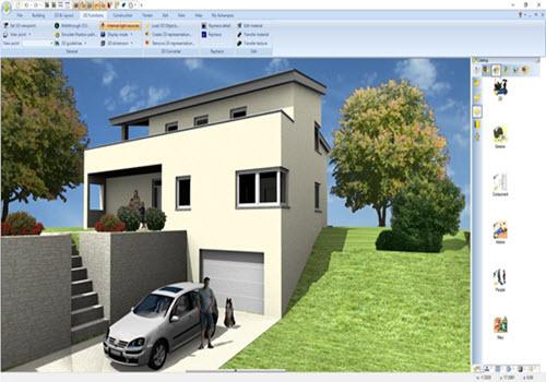 Capture d'écran Ashampoo Home Designer