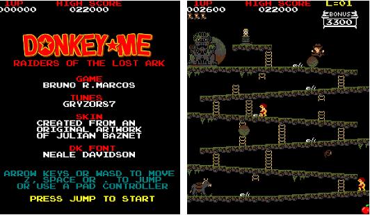 Capture d'écran Donkey-Me : Raiders of the Lost Ark