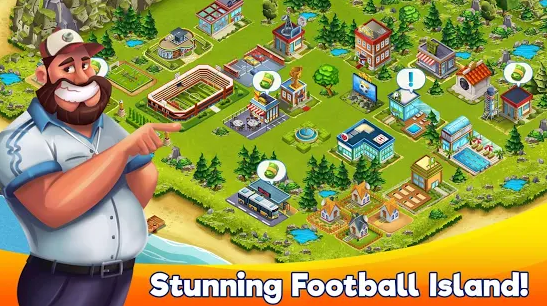 Capture d'écran Football Island Android