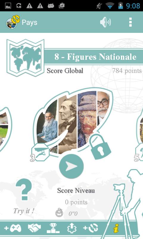 Capture d'écran Time Quiz Pays
