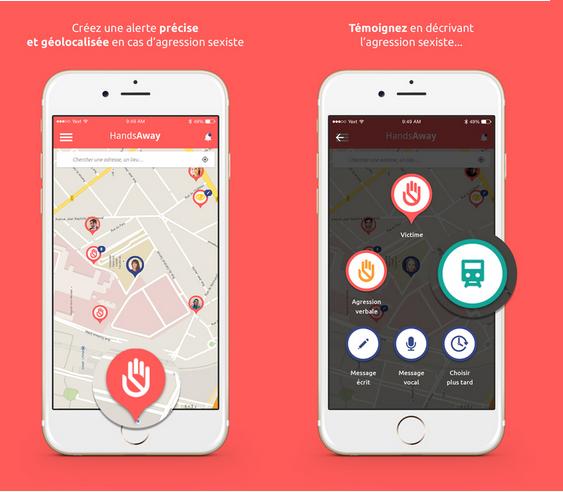 Capture d'écran HandsAway iOS