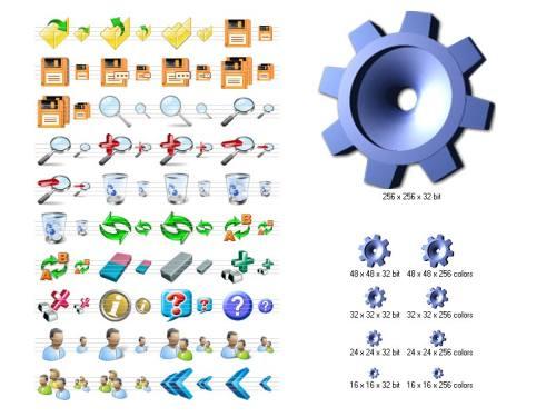 Capture d'écran Large Icons for Vista