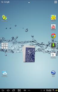 Capture d'écran Magic card in mobile