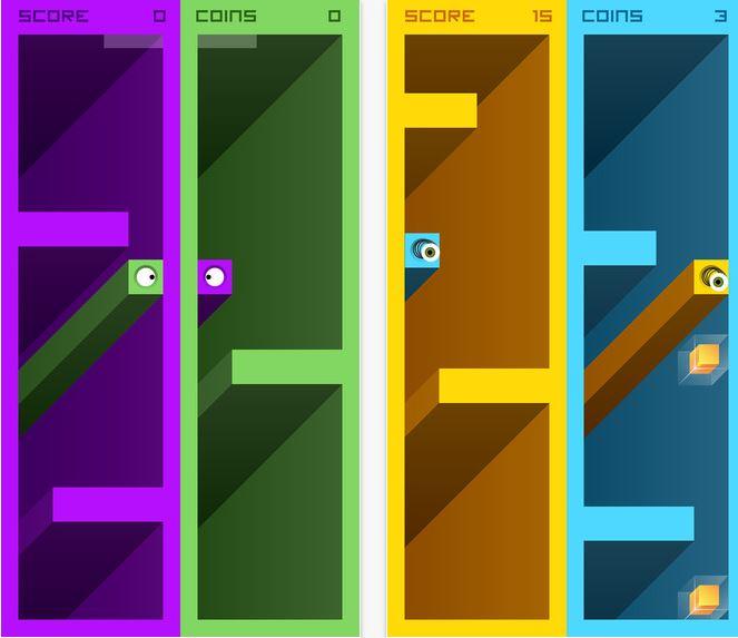 Capture d'écran Eyes Cube Android