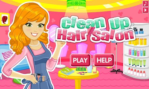 Capture d'écran Nettoyage de salon de coiffure