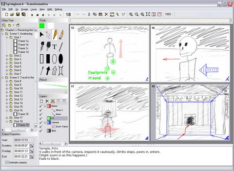 Capture d'écran Springboard