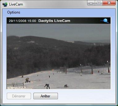 Capture d'écran LiveCam Lite