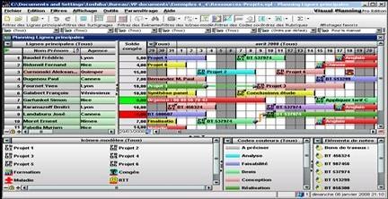 Capture d'écran Visual Planning
