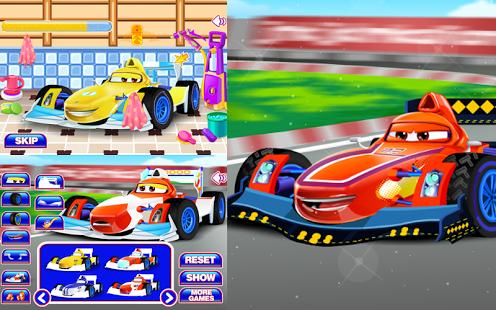 Capture d'écran Racing Car Wash