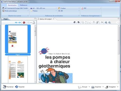 Capture d'écran HomeGed Scan