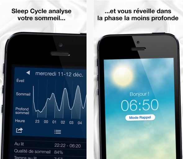 Capture d'écran Sleep Cycle alarm clock iOS