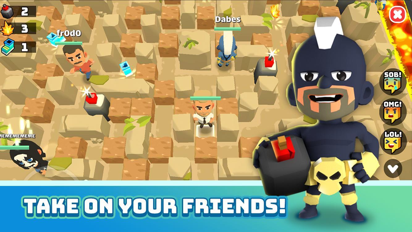 Capture d'écran Battle Bombers Arena Android