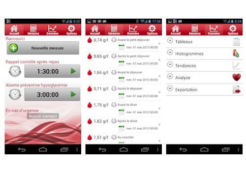 Capture d'écran Ma Glycémie : Suivi et contrôle du taux de glucose iOS