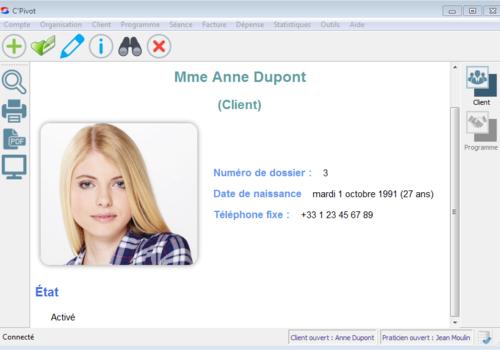 Capture d'écran C'Pivot 1.0.1