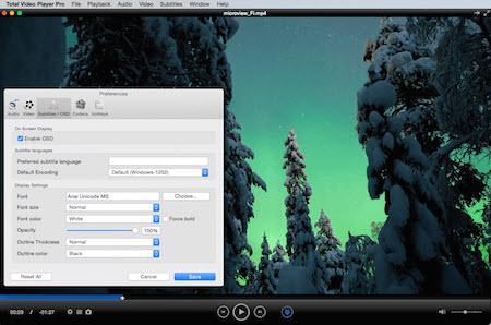 Capture d'écran Total Video Player Mac