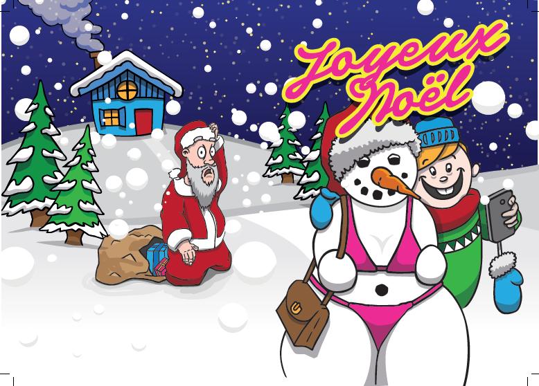 Capture d'écran Carte Joyeux Noël PDF