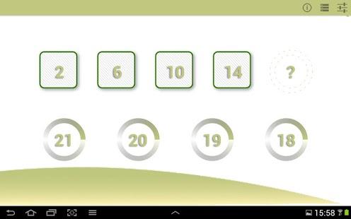 Capture d'écran Mathématiques de base