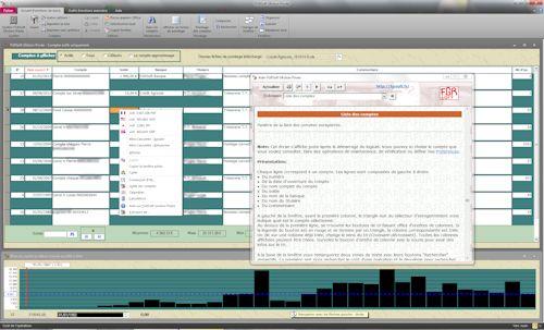 Capture d'écran FGRSoft G€stion Privée v6.03