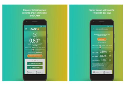 Capture d'écran Crédit by CAFPI iOS