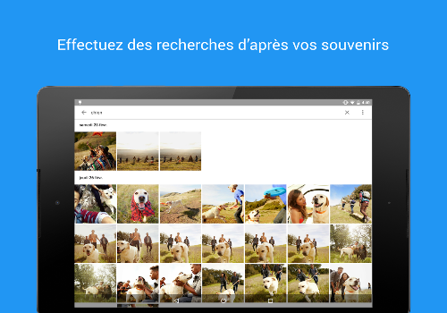 Capture d'écran Photos Uploader Mac