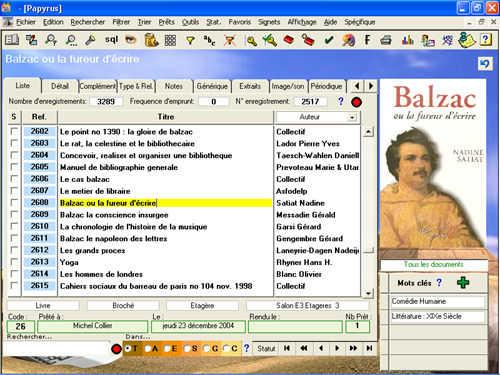 Capture d'écran Papyrus2000