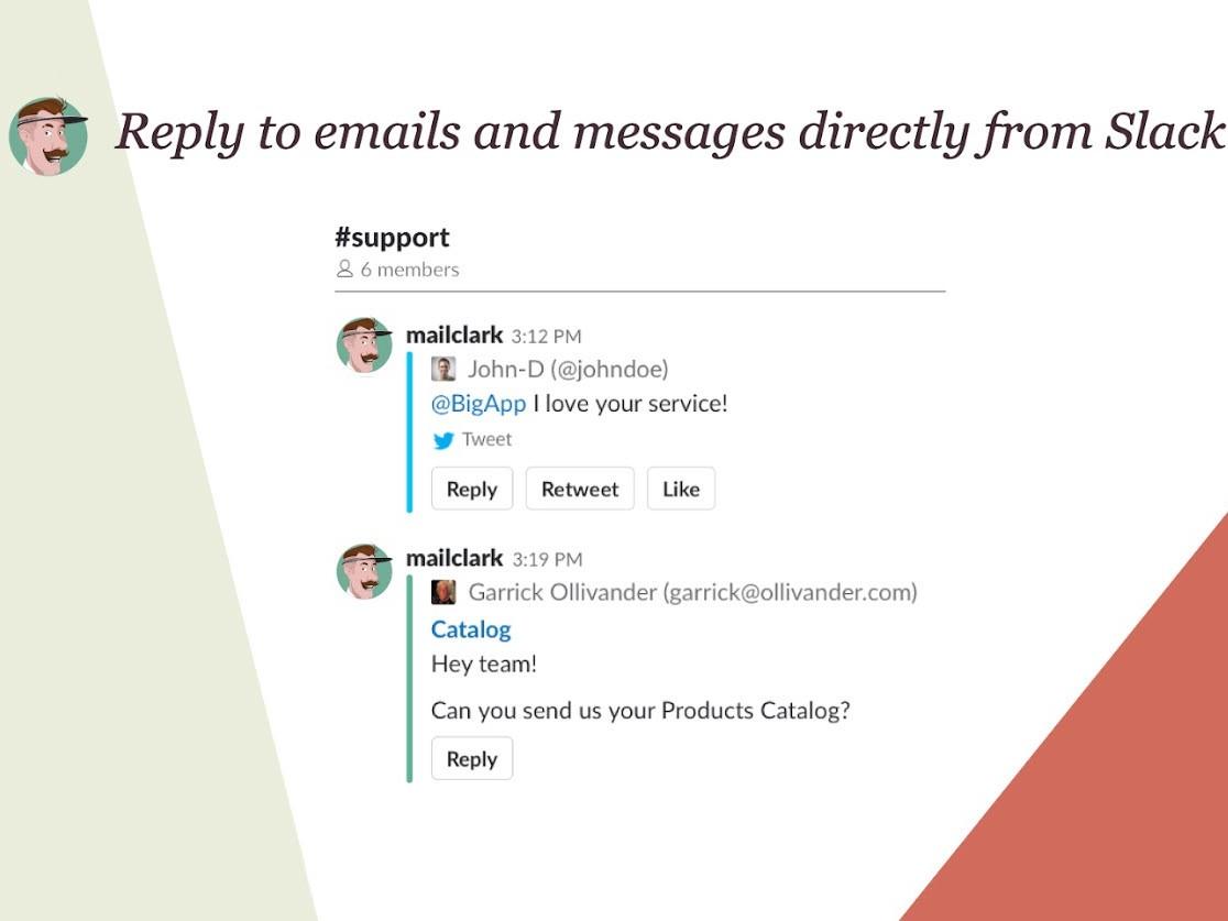 Capture d'écran MailClark