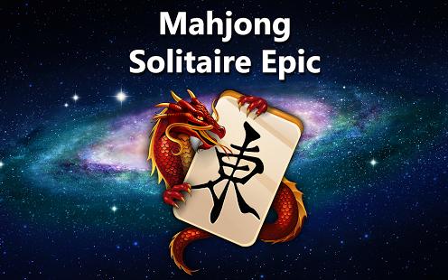 Capture d'écran Mahjong Solitaire Epic