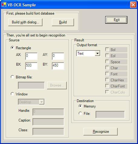 Capture d'écran Screen Scraping Library
