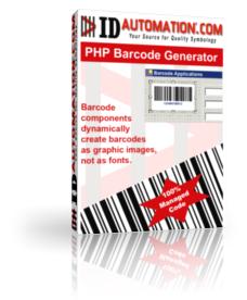 Capture d'écran PHP Barcode Generator Script