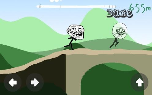 Capture d'écran Troll Face Multiplayer