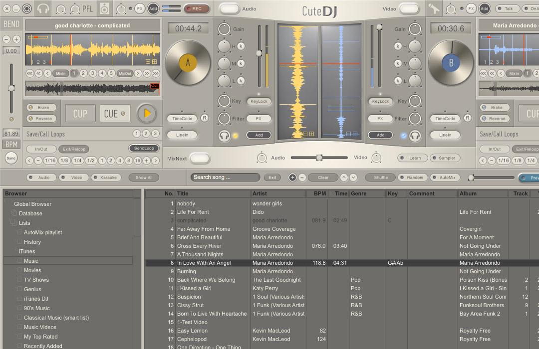 Capture d'écran CuteDJ for Mac