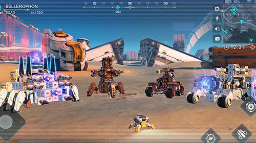 Capture d'écran Roverrage Android