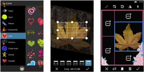 Capture d'écran PicsArt Windows Phone