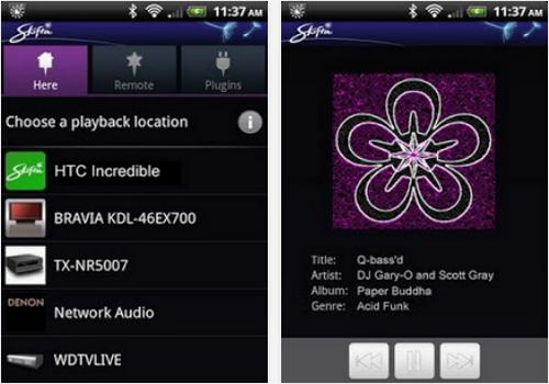 Capture d'écran Skifta Android
