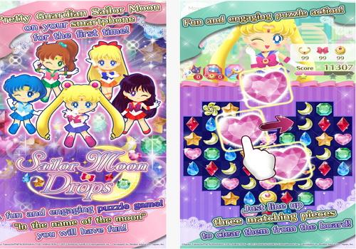 Capture d'écran Sailor Moon Drops iOS