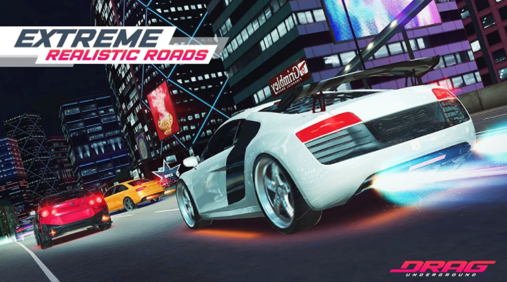 Capture d'écran Drag Racing: Underground City Racers Android