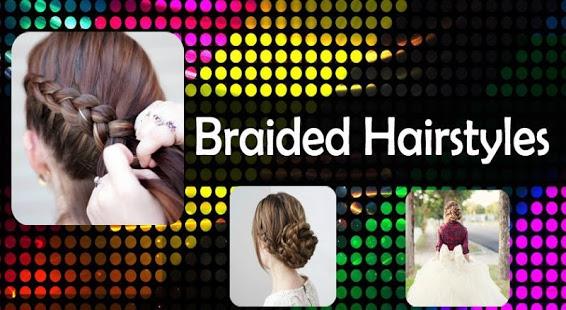 Capture d'écran Braided Hairstyles