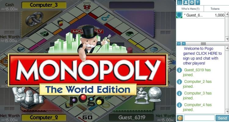Monoply en ligne